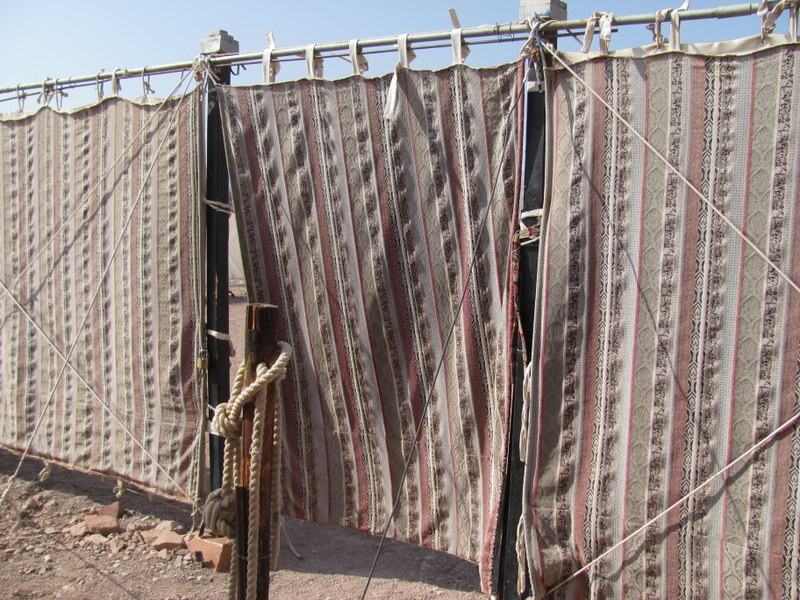 Timnah outer curtain, Biblical Israel Tours