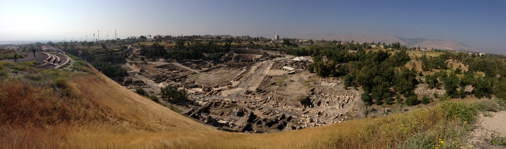 Bethshean - View from on top of tel