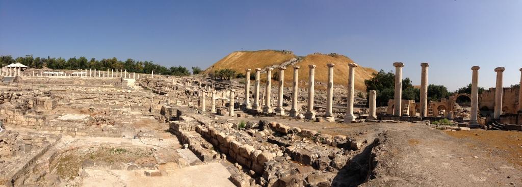 Bethshean - Ruins