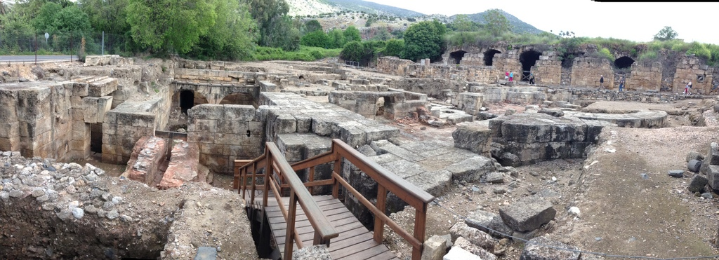 Caesarea Philippi - Palace ruins