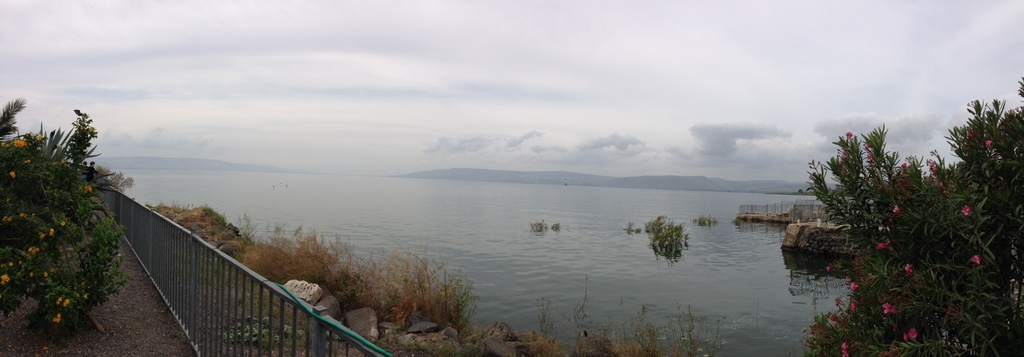 Sea of Galilee - Capernaum shoreline
