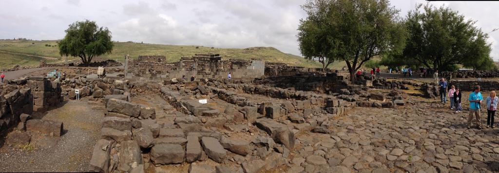 Chorazim - Ruins