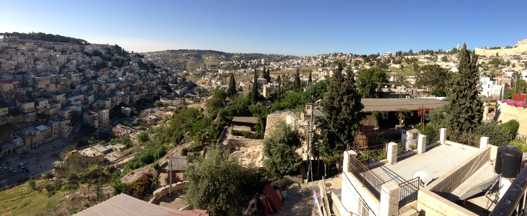 City of David - Kidron Valley (looking south)