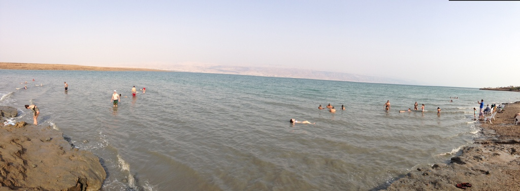 Dead Sea - Floating area