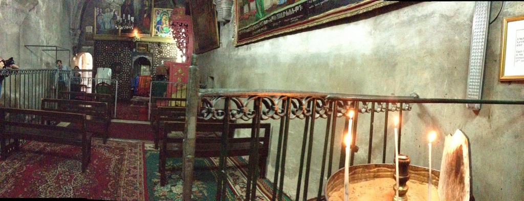 Old City - Holy Sepulcher Ethiopian chapel