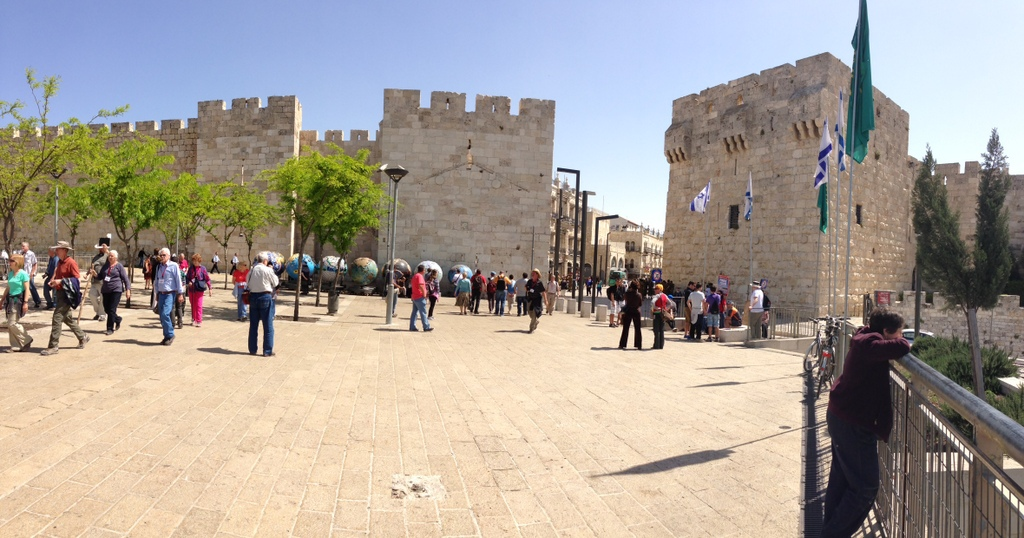 Old CIty - Jaffa Gate