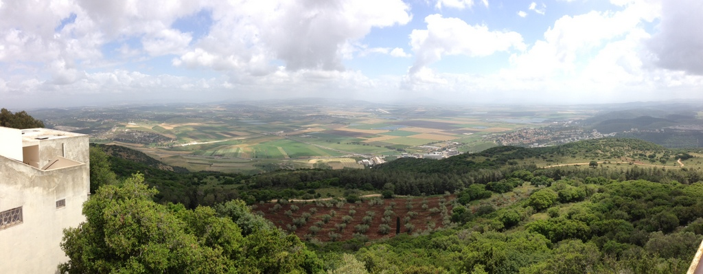 Jezreel Valley - from Mt. Carmel
