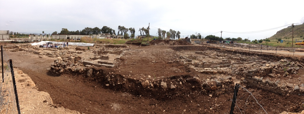 Magdala - Overview of ruins