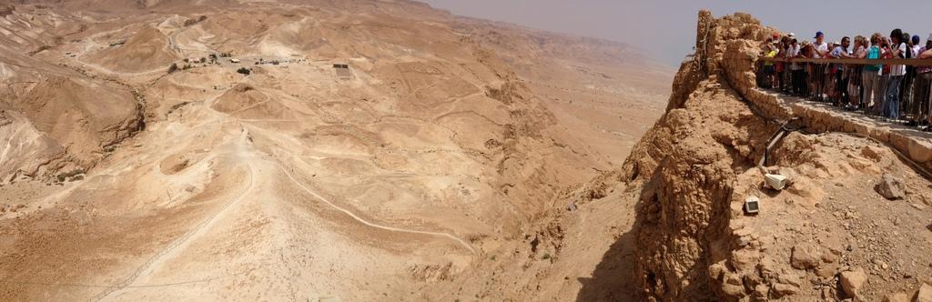 Masada - Roman ramp