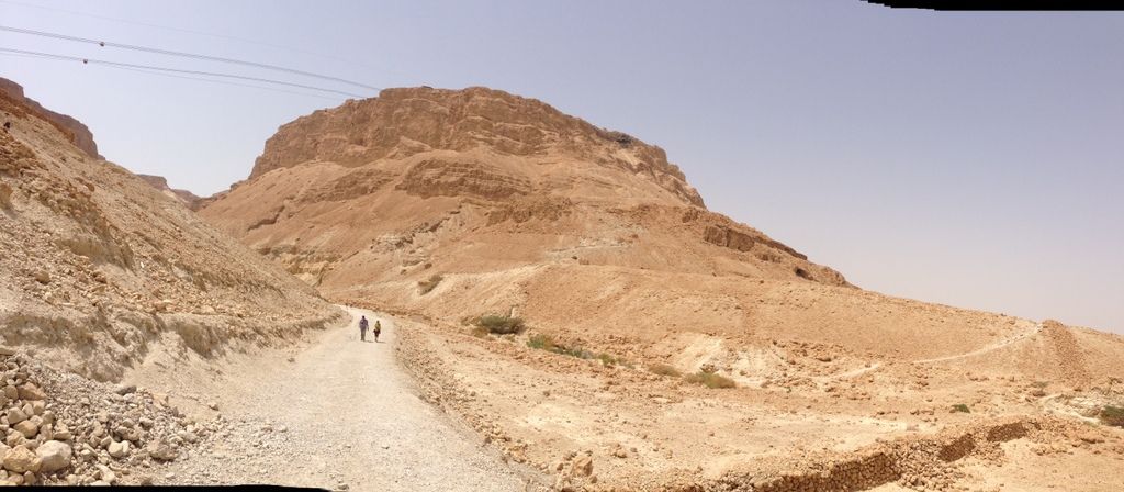 Masada - From below