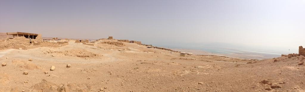 Masada - On top