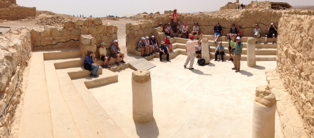 Masada - Synagogue