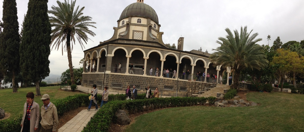 Mt of Beatitudes - Catholic church