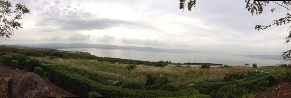 Sea of Galilee - View from Mt. of Beatitudes