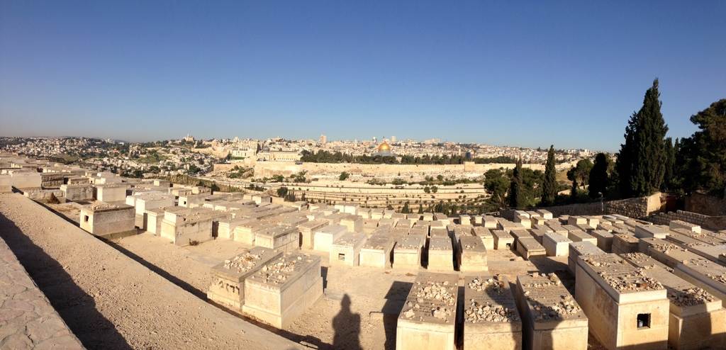 Jerusalem - From the Mt. of Olives & Jewish cemetery