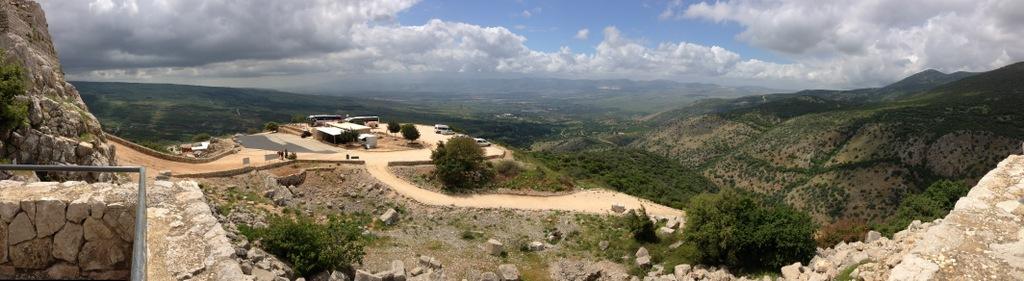 Nimrod -View to west