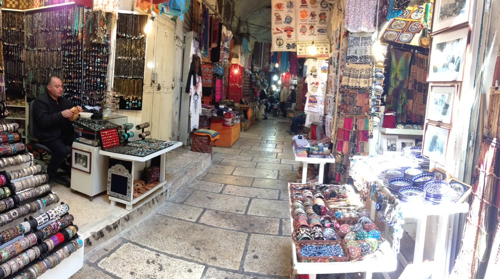 Old City - Bazaar shopping area
