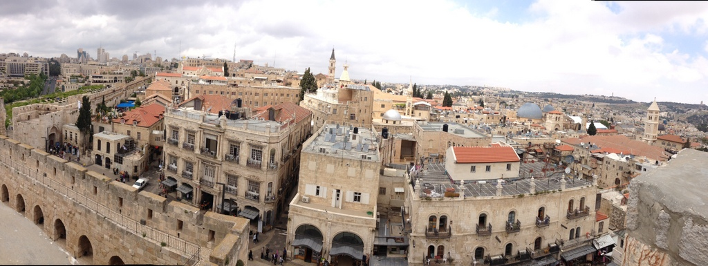 Old City - View of Christian Quarter from Citadel