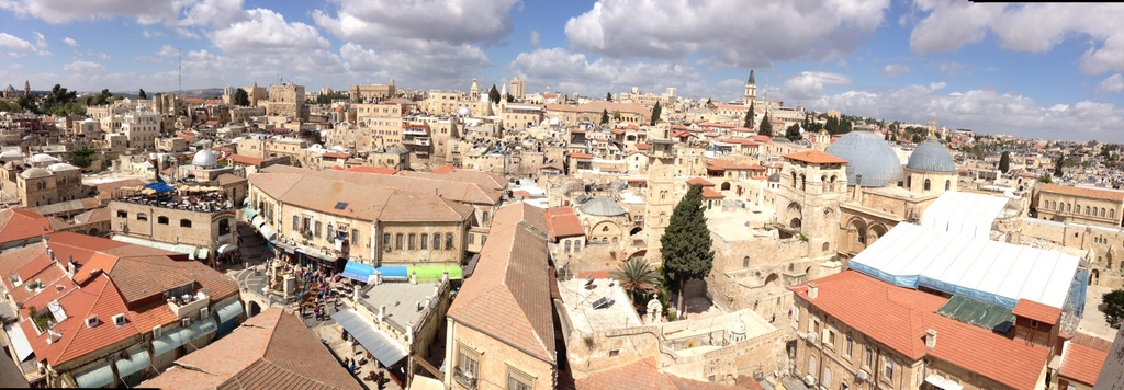 Old City - Christian Quarter from the Citadel