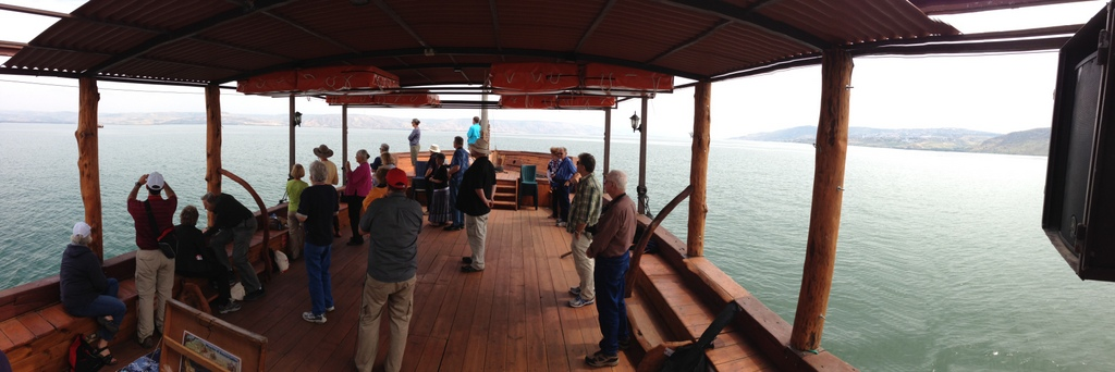 Sea of Galilee - Boat ride