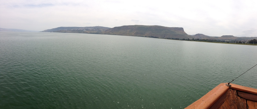 Sea of Galilee - Boat ride (looking west)