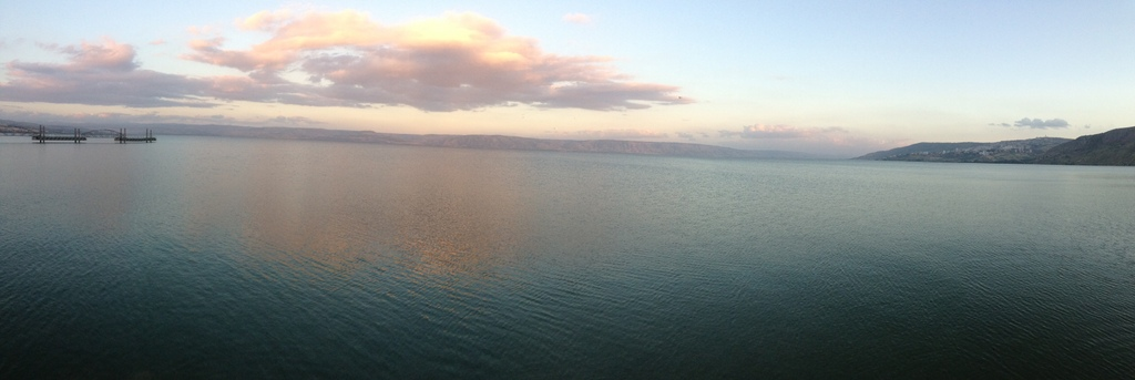 Sea of Galilee - Sunset