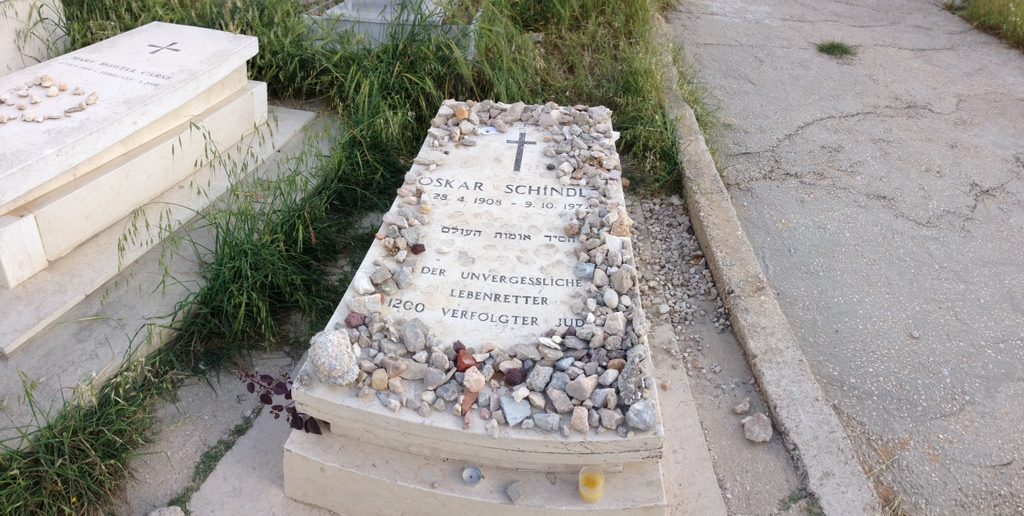 Mt. Zion - Oskar Schindler's grave