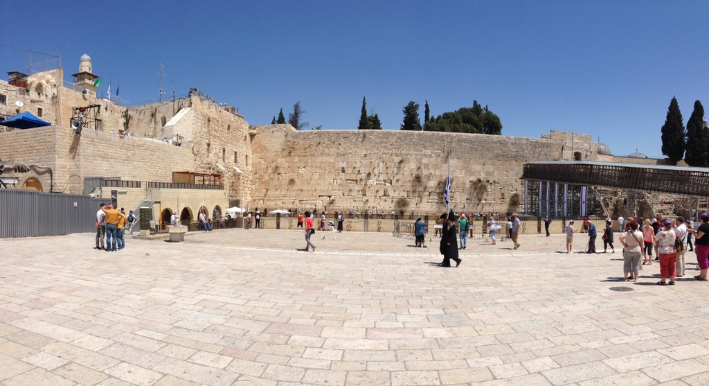 Old City - Western Wall plaza