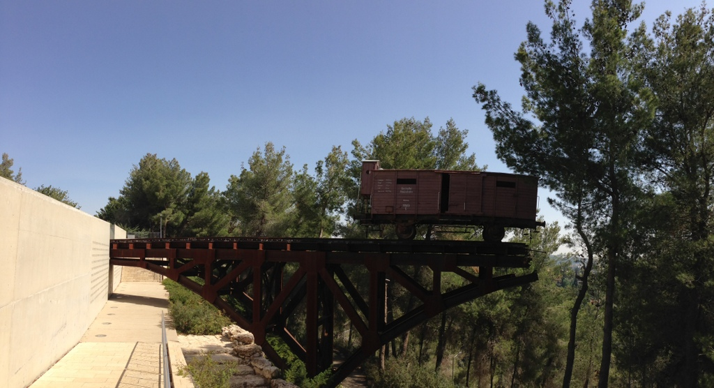 Yad Vashem train