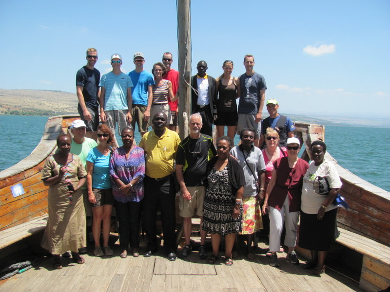Sea of Galilee Boat ride (with Uganda group)
