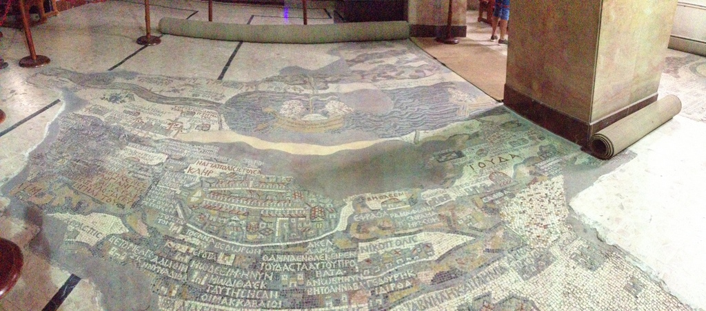 Jordan - Medeba 6th century AD mosaic map
