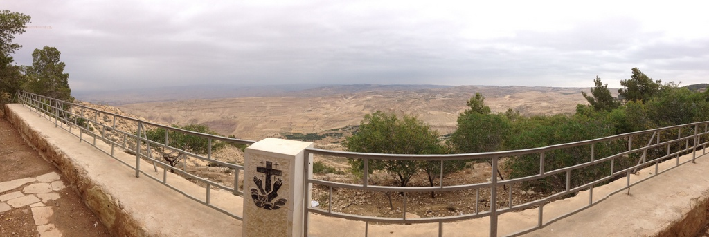 Jordan - Mt. Nebo northern view of Gilead