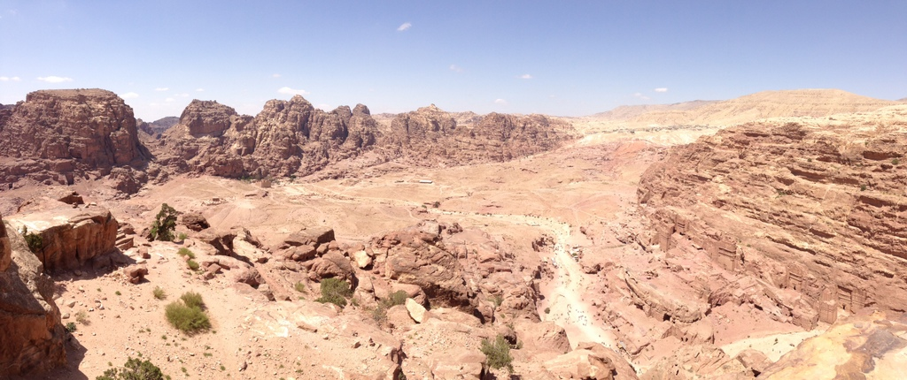 Jordan - Petra -High Place view