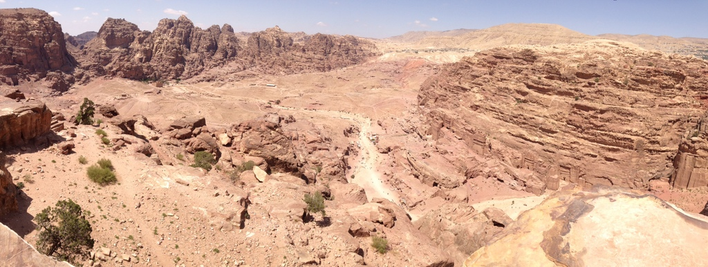 Jordan - Petra - High Place view