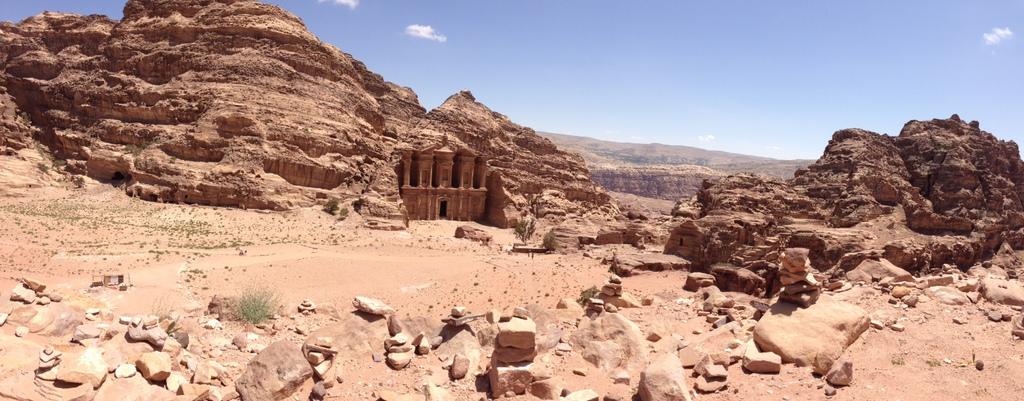 Jordan - Petra - Monastery