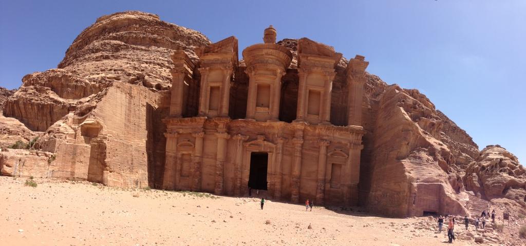 Jordan - Petra - Monestary