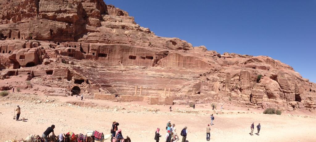 Jordan - Petra - Roman theater