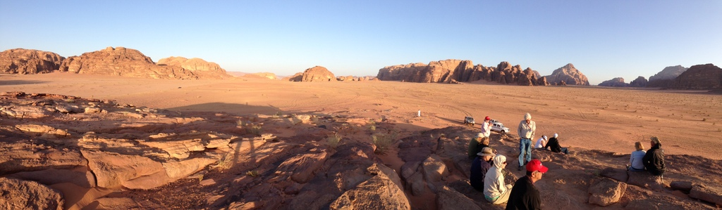 Jordan - Wadi Rum rock and desert