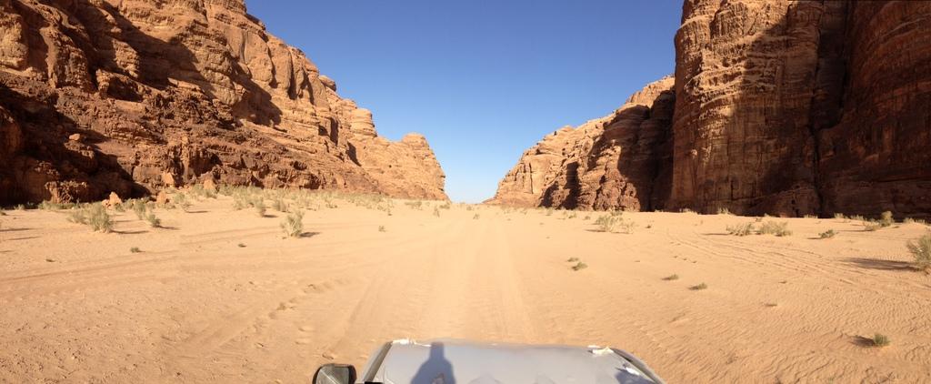 Jordan - Wadi Rum jeep