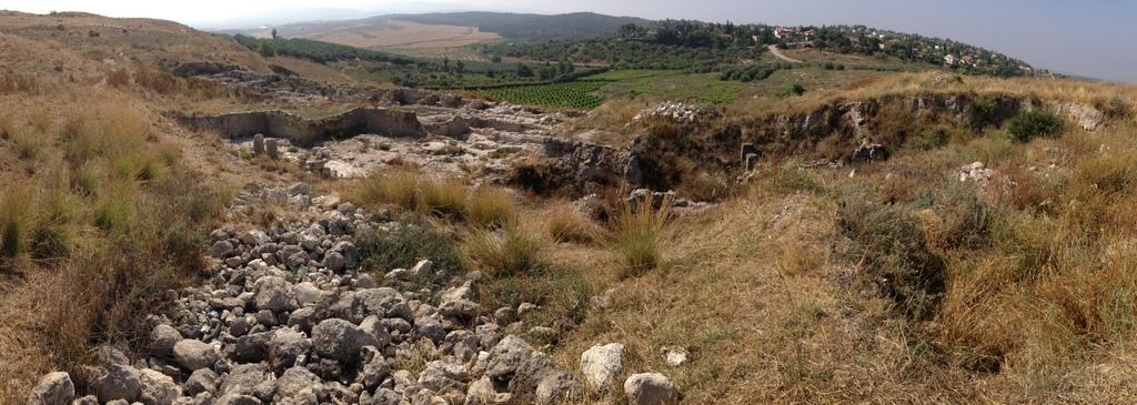 Gezer - Iron Age (Israelite) ruins