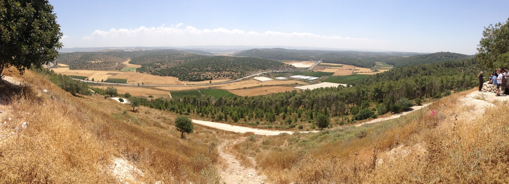 Elah Valley (from Azekah)