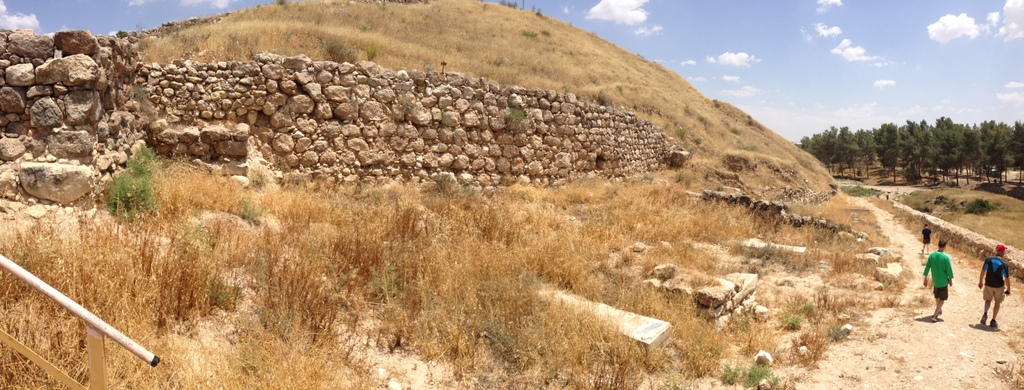 Lachish - Israelite wall
