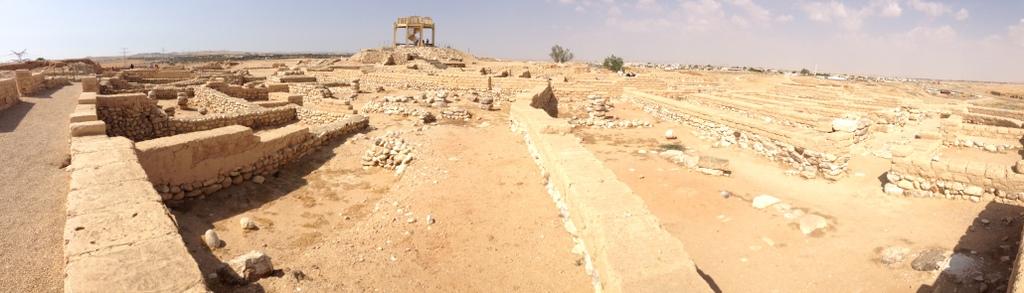 Beersheba - Israelite ruins