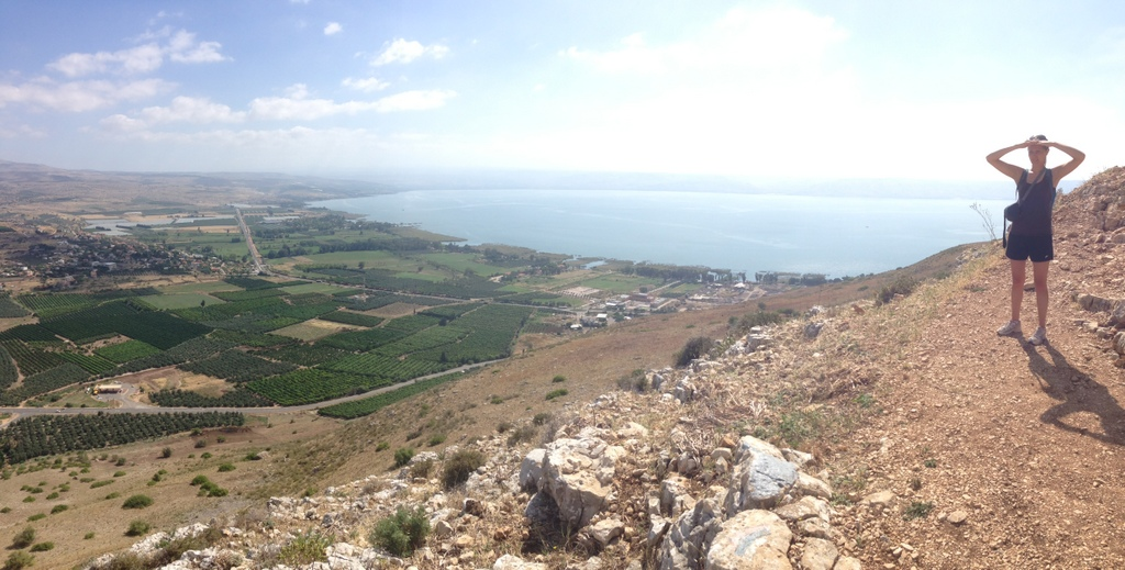 Sea of Galilee - From Arbel