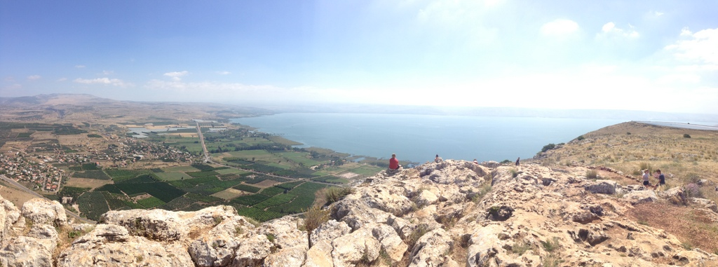 Mt. Arbel - View from the top
