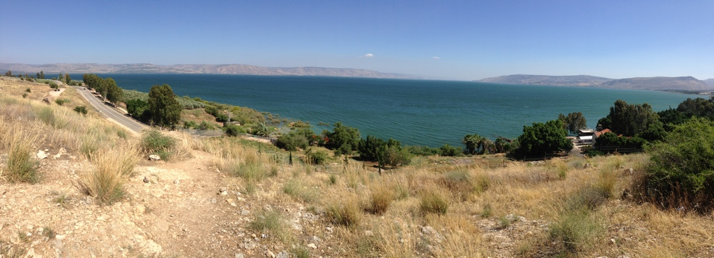 Sea of Galilee - From Mt. of Beatitudes