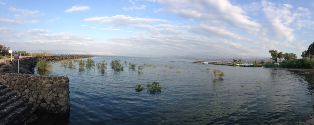 Sea of Galilee - From NE corner