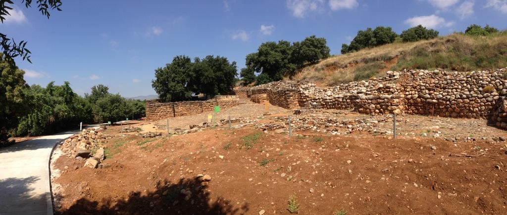Dan - Israelite ruins