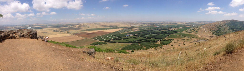 Bental - Looking into southern Israel