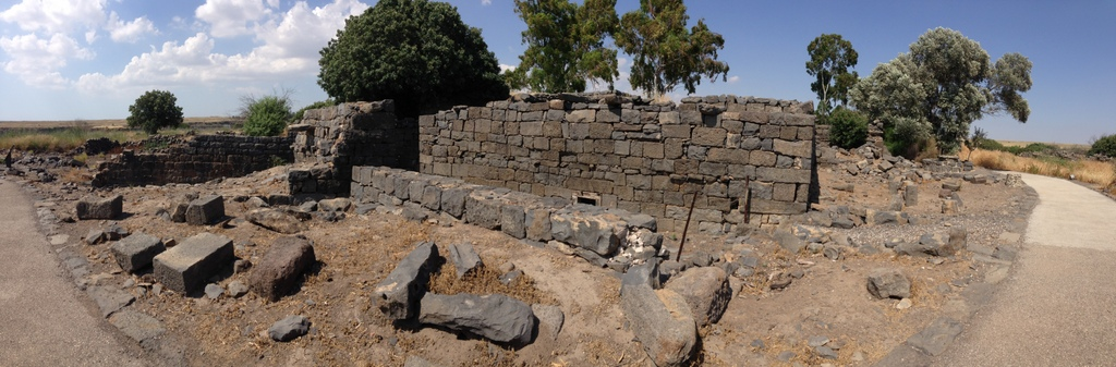 Gamla - Byzantine ruins
